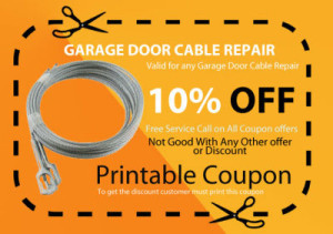 garage door cable repair